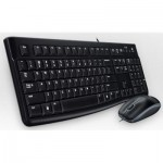 Logitech Desktop MK120 USB Keyboard & Mouse Bundle
