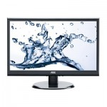 "AOC E2250SWDAK 21.5"" LED Widescreen DVI 5ms Speakers VGA"