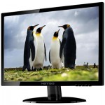 "Hanns G HE247DPB 24"" LED DVI Monitor With Speakers"