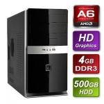 AMD Richland A6-6400K 3.9GHz Dual Core mATX System 4GB RAM 500GB Hard Drive No OS