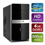 Intel i5 3470 Ivy Bridge 3.2GHz Quad Core  mATX System 4GB RAM 500GB Hard Drive No OS