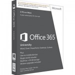 Microsoft Office 365 University 32-Bit/x64 (English)  1 User 3 Devices 4 Year Eurozone Academic Subscription